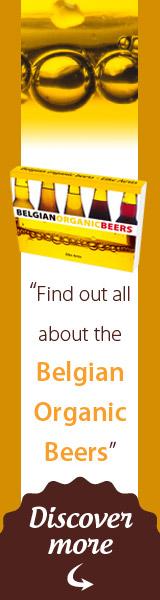 banner vertical all belgian organic beers